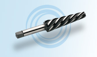 Helical Automotive Taper Reamer with a Squared Shank