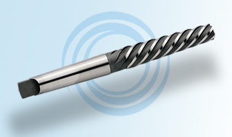 Helical Morse Taper Reamer with a Morse Tapered Shank